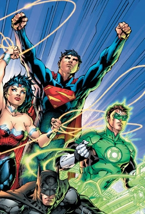 JLA #1 (detail), Fall 2011