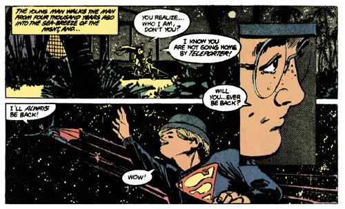 Miracle Monday from Superman #400, Elliot S! Maggin and Klaus Janson