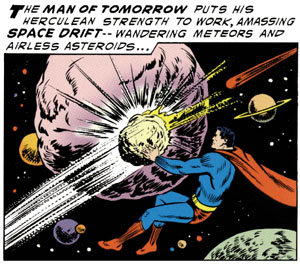 Superman builds a planet