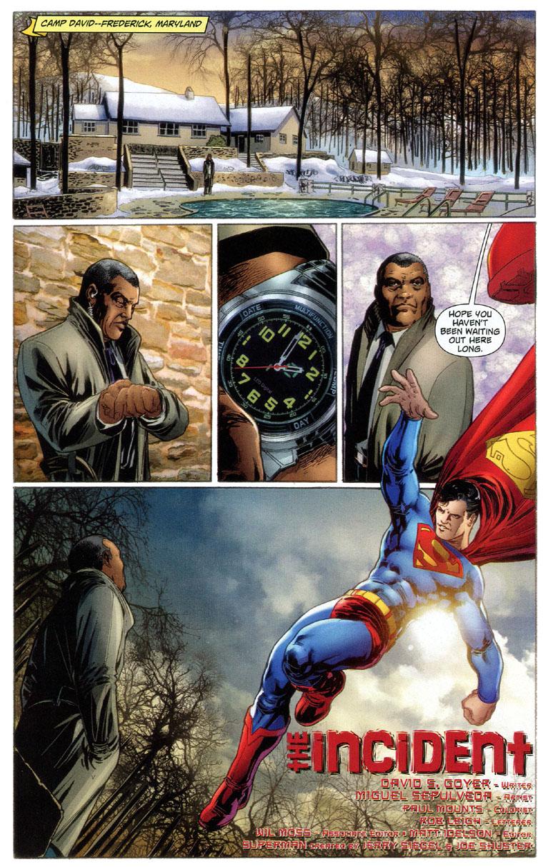 Superman renounces U.S. Citizenship, page 1