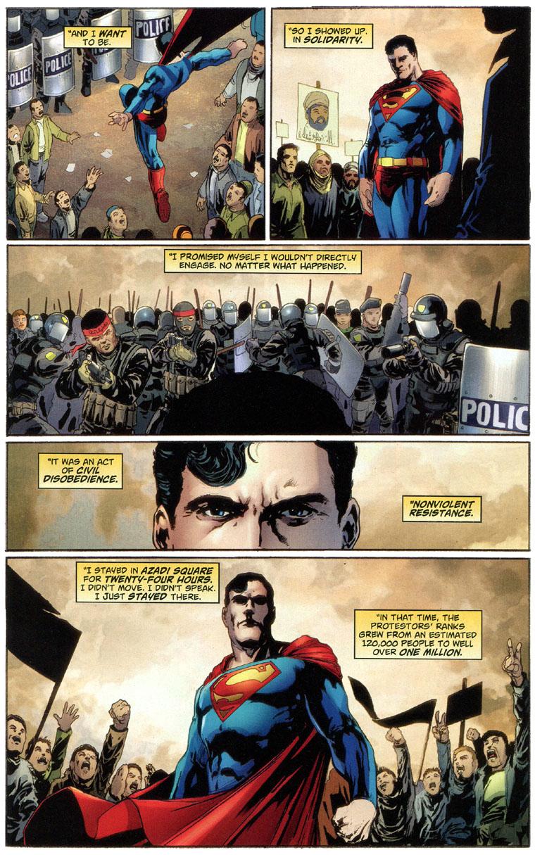 Superman renounces U.S. Citizenship, page 6
