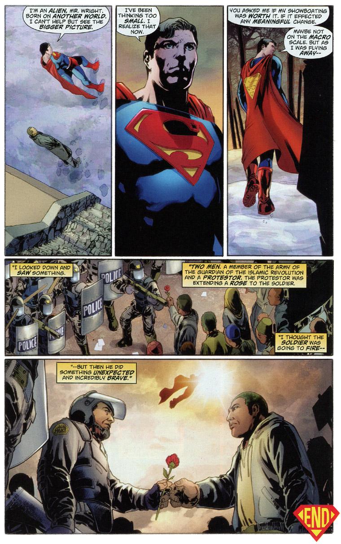 Superman renounces U.S. Citizenship, page 9